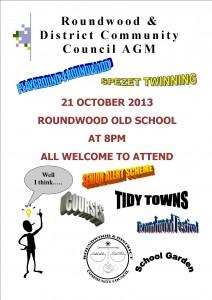 AGM poster 2013