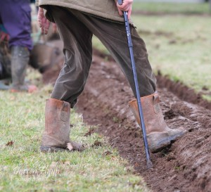Roundwood Ploughing 2014=Big Foot