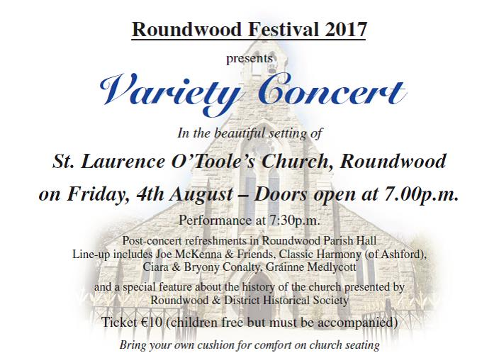 Roundwood Festival Concert at Church