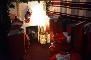 Santa grotto Maureen